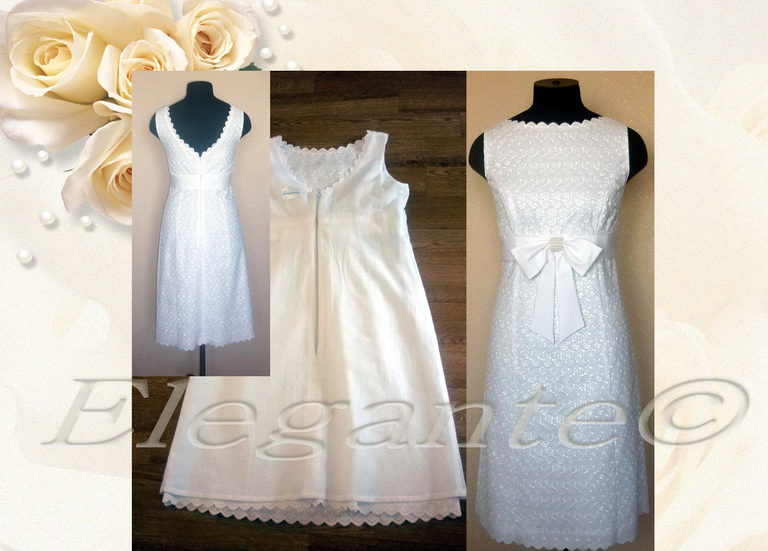 Белое платье из шитья сшить