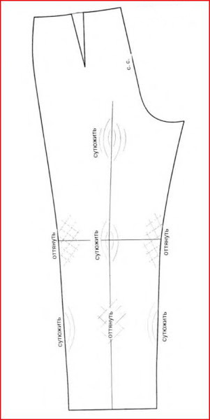 Как сшить брюки пошаговое