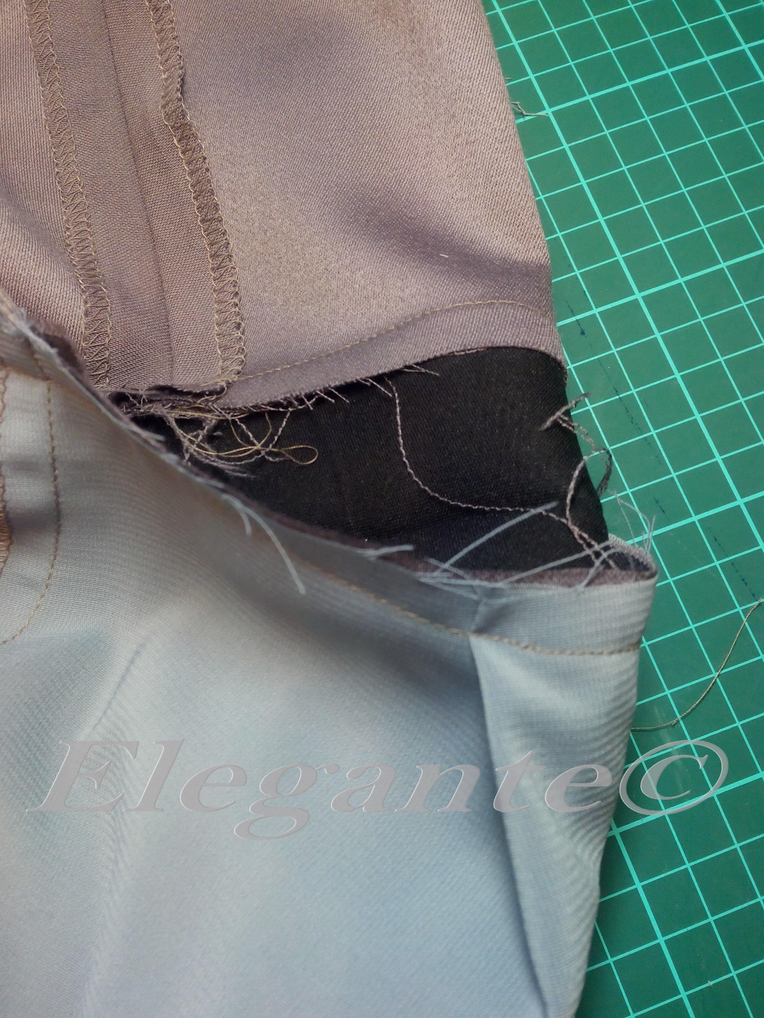 Как пришить подкладку к юбке 67